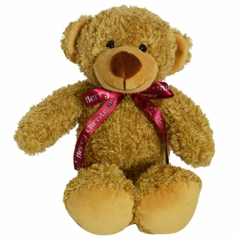 30cm_barney_bear_bow_biscuit_1024