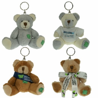 Keychain gang bears
